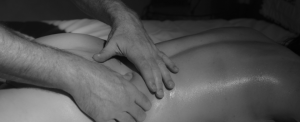 huidhonger stillende massage